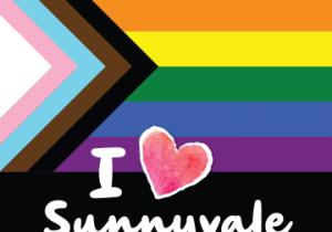 PRIDE I Heart Sunnyvale